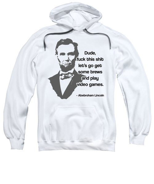 Abebroham Lincoln Sweatshirt by Michelle Murphy