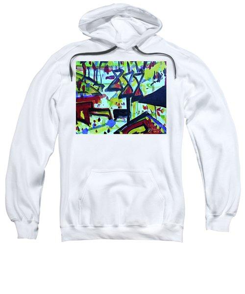Abstract-27 Sweatshirt