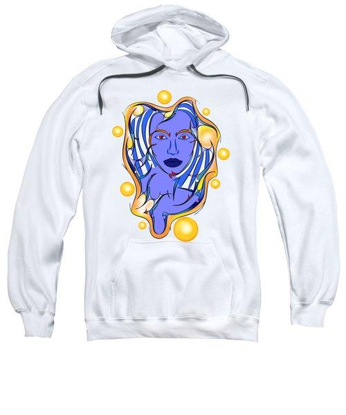Angeonilium V2 - Blue Beauty Sweatshirt