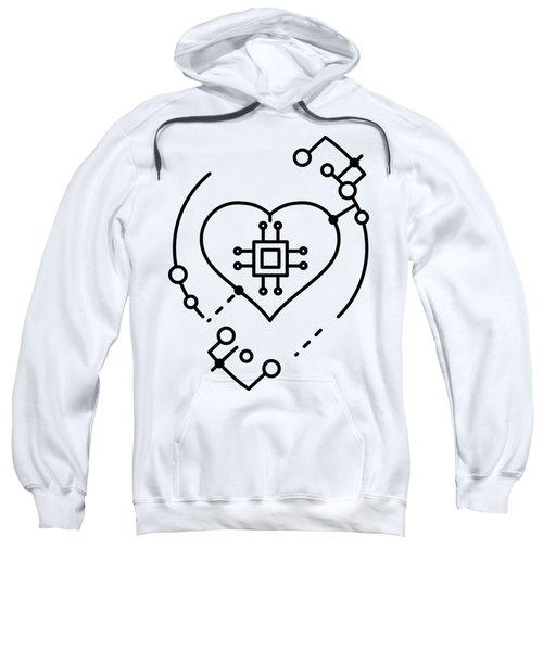 Abstract Digital World Sweatshirt