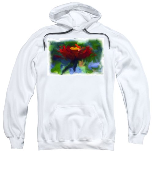 Abstract Flower Expressions 2 Sweatshirt