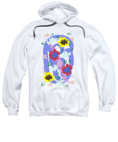Abstract Garden #1 Sweatshirt