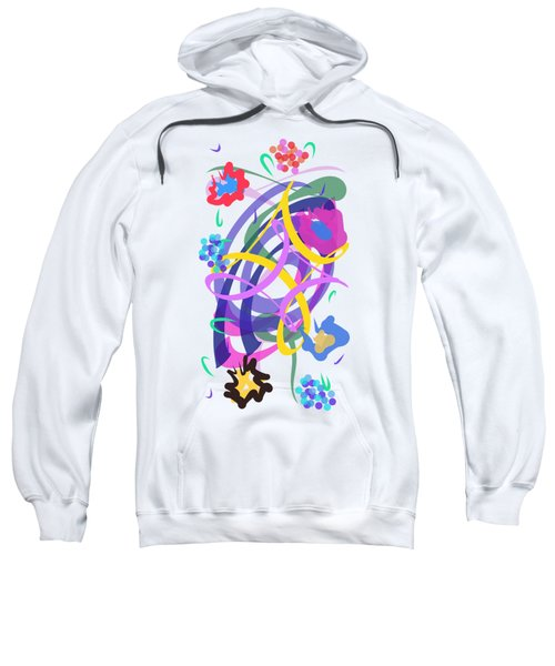 Abstract Garden #2 Sweatshirt