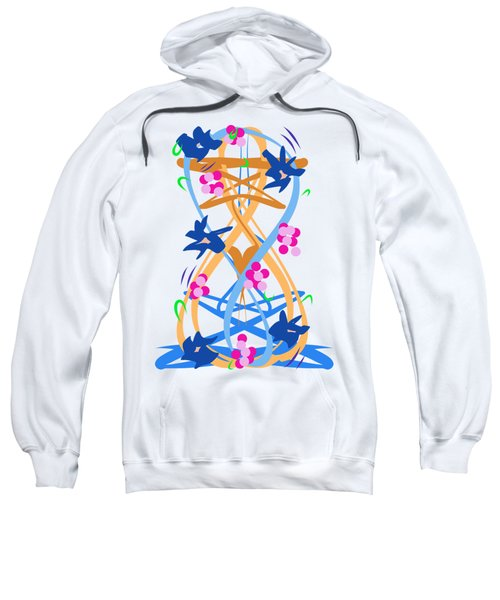 Abstract Garden #3 Sweatshirt