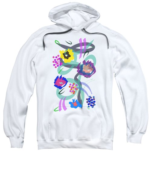 Abstract Garden Nr 4 Sweatshirt