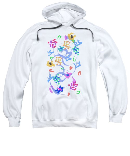 Abstract Garden Nr 6 Sweatshirt