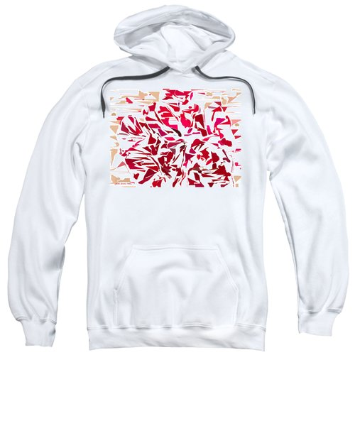 Abstract Geranium Sweatshirt