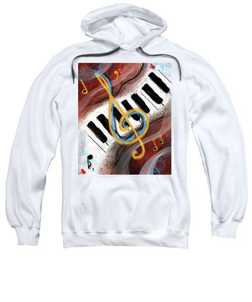 Abstract Piano Concert Sweatshirt
