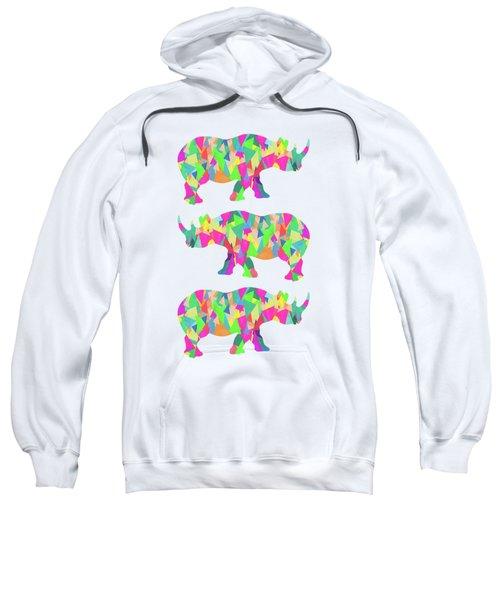 Abstract Rhino Sweatshirt