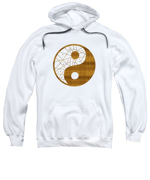 Abstract Yin And Yang Taijitu Symbol Sweatshirt