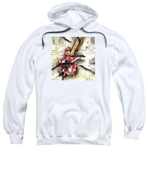 Abstracta 35 Eddie's Guitar Sweatshirt by Gary Bodnar