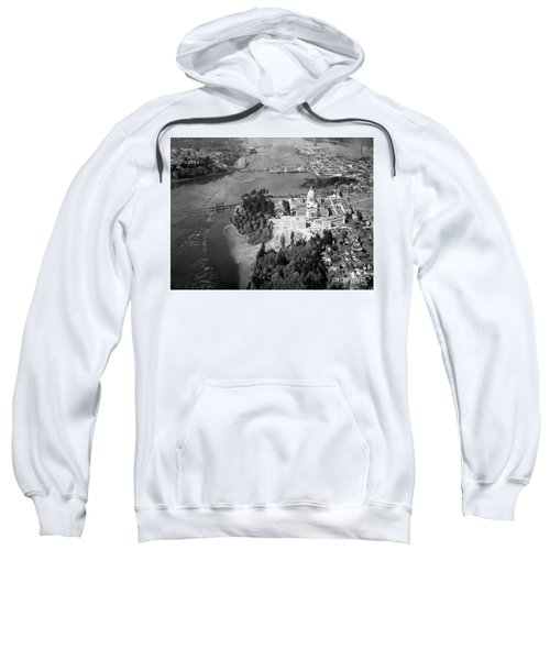 Aerial View Northward Over Olympia Sweatshirt