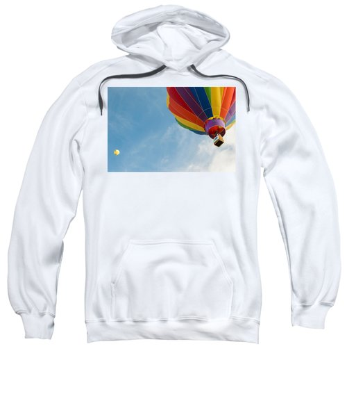 Sweatshirt featuring the photograph After Liftoff by Stephen Holst