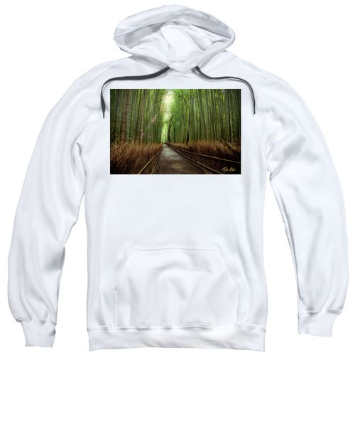 Afternoon In The Bamboo Sweatshirt by Rikk Flohr