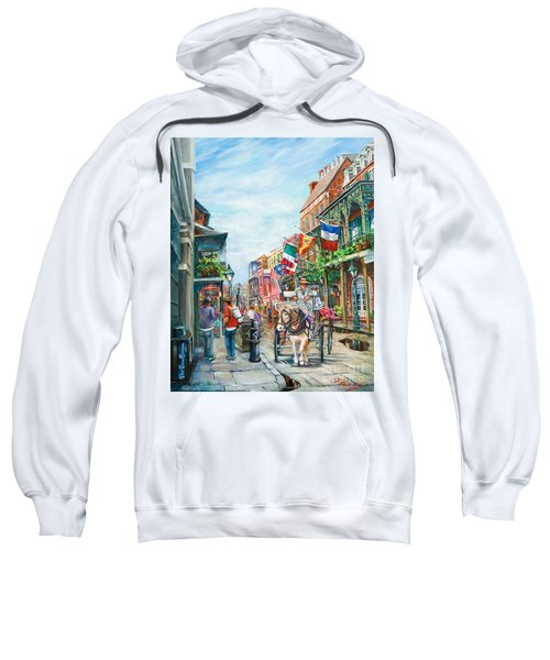Afternoon On St. Ann Sweatshirt