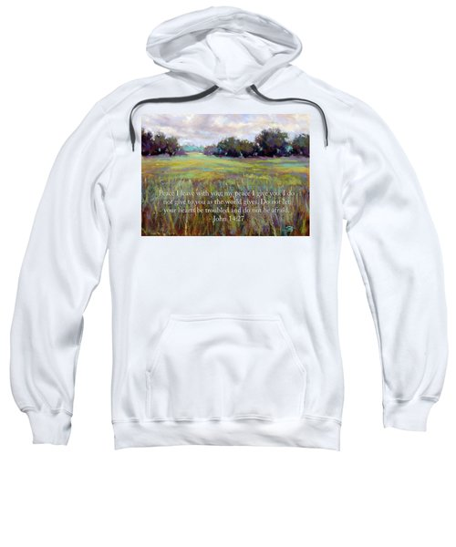 Afternoon Serenity With Bible Verse Sweatshirt