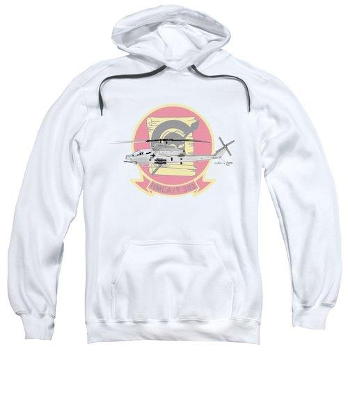 Ah-1z Viper Sweatshirt by Arthur Eggers