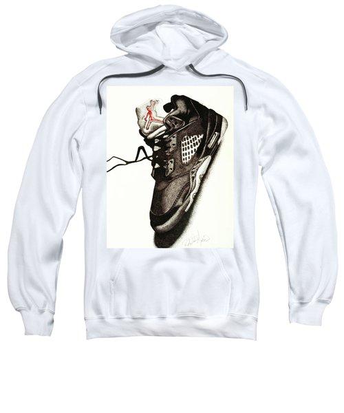 Air Jordan Sweatshirt by Robert Morin