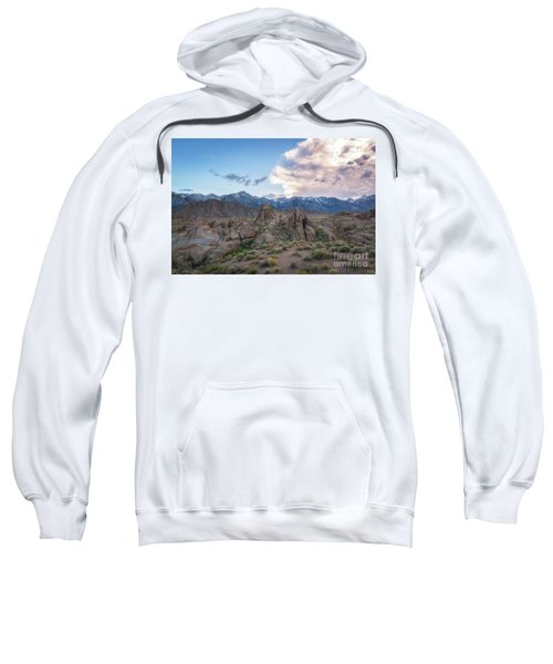 Alabama Hills And Sierra Nevada Mountains Sweatshirt