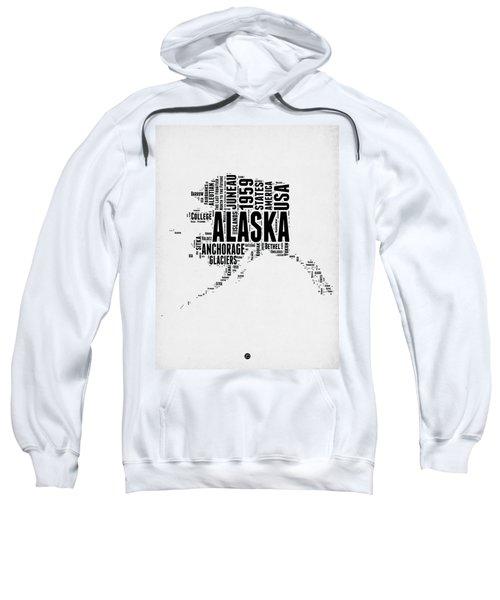 Alaska Word Cloud 2 Sweatshirt
