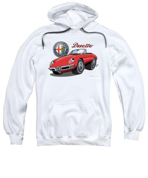 Alfa Romeo Duetto Cartoon Sweatshirt