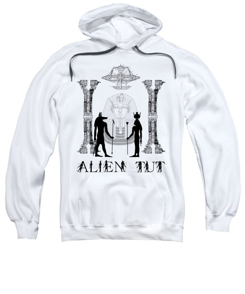 Alien King Tut Sweatshirt