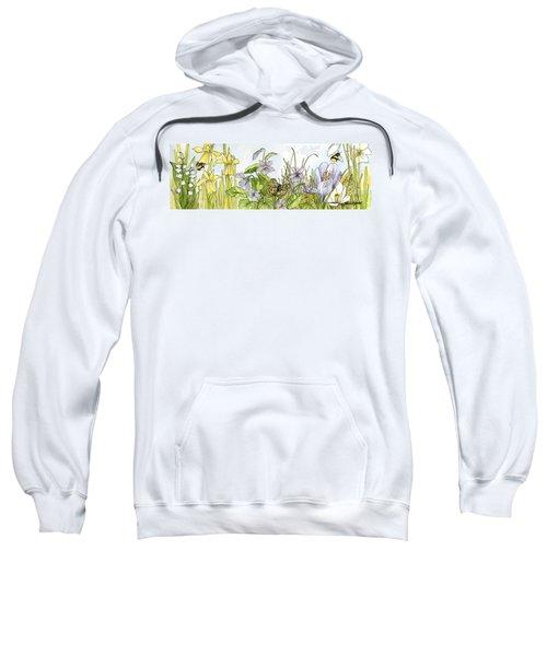 Alive In A Spring Garden Sweatshirt