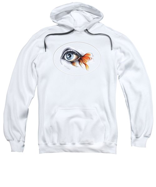 All I See Is A Sea Sweatshirt by E Drawings