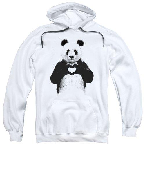 All You Need Is Love Sweatshirt