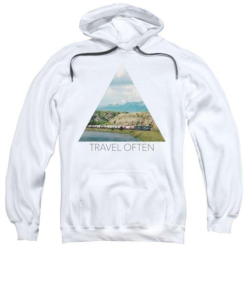 Along The Yellowstone Sweatshirt