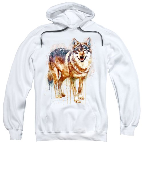 Alpha Wolf Sweatshirt by Marian Voicu