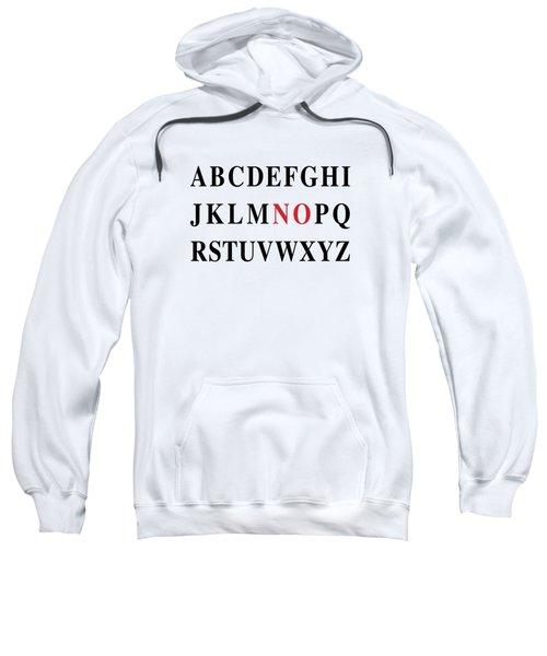 Alphabet No Sweatshirt