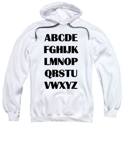 Alphabet T-shirt Sweatshirt