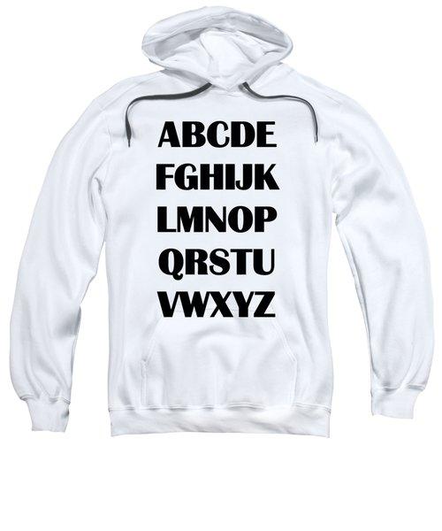 Alphabet T-shirt Sweatshirt