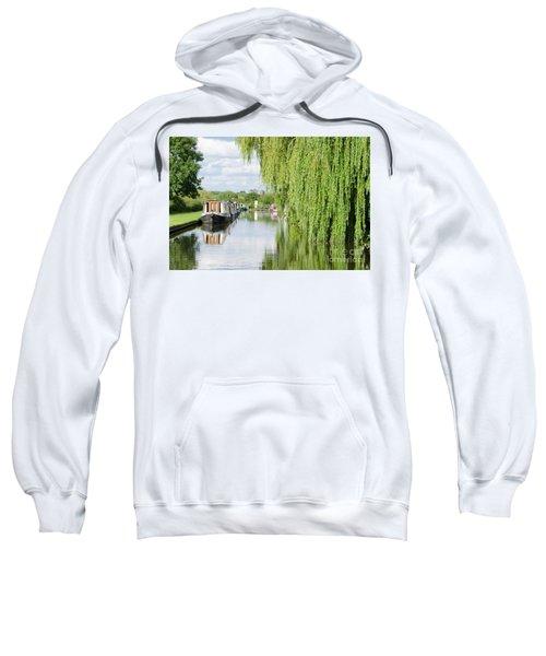 Alrewas Canal Scene Sweatshirt