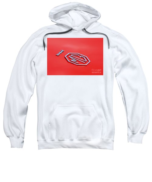 Sweatshirt featuring the photograph Aluminum Font by Stephen Mitchell