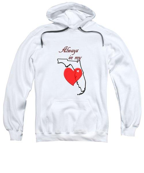 Always In My Heart Fl Sweatshirt