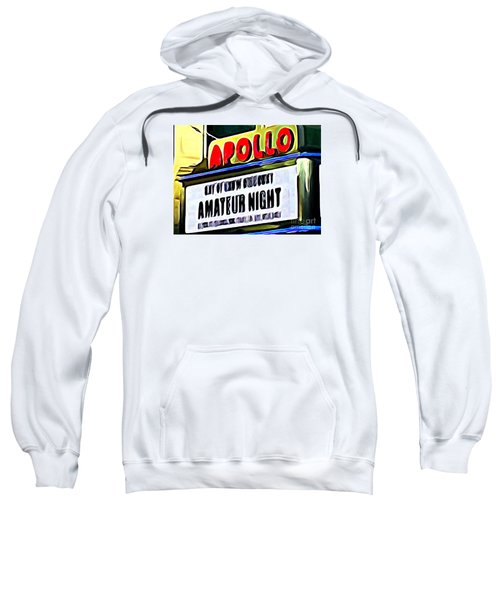Amateur Night Sweatshirt by Ed Weidman