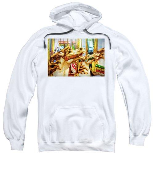 Amazing Carrousel Horses Sweatshirt