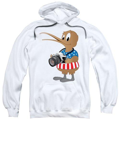 American Kiwi Photo Sweatshirt by Mark Dodd
