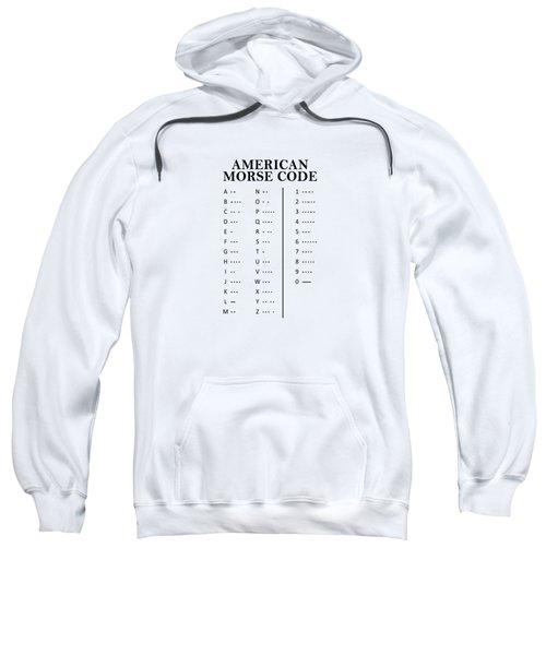American Morse Code Sweatshirt