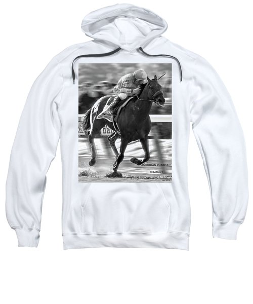 American Pharoah And Victor Espinoza Win The 2015 Belmont Stakes Sweatshirt