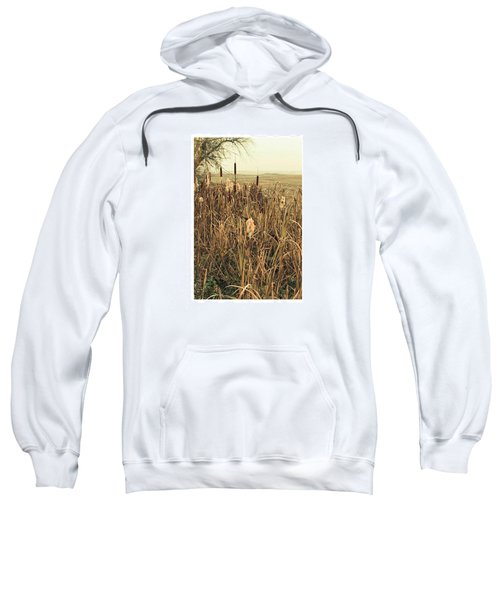 *among The Reeds  #landscape Sweatshirt