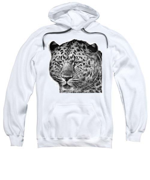 Amur Leopard Sweatshirt by John Edwards