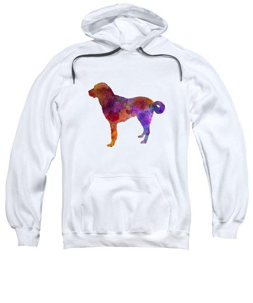 Anatolian Shepherd Dog In Watercolor Sweatshirt by Pablo Romero