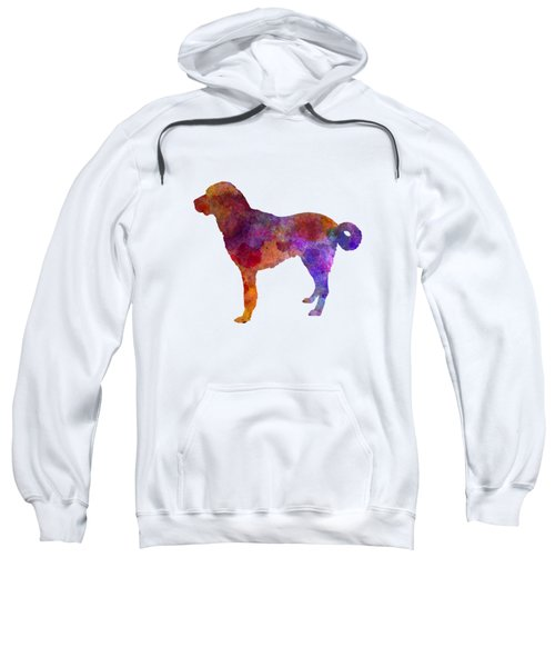 Anatolian Shepherd Dog In Watercolor Sweatshirt