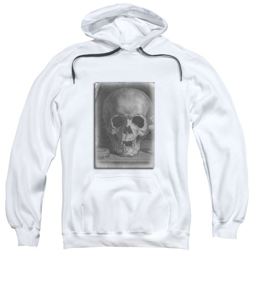 Ancient Skull Tee Sweatshirt by Edward Fielding