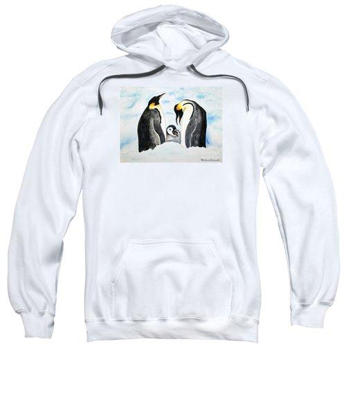 And Baby Makes Three Sweatshirt