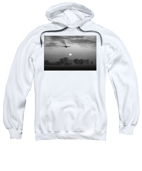 And Finally Black And White Version Sweatshirt