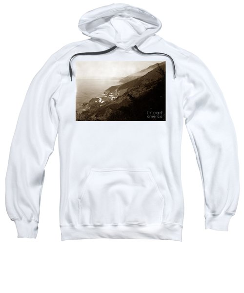 Anderson Creek Labor Camp Big Sur April 3 1931 Sweatshirt